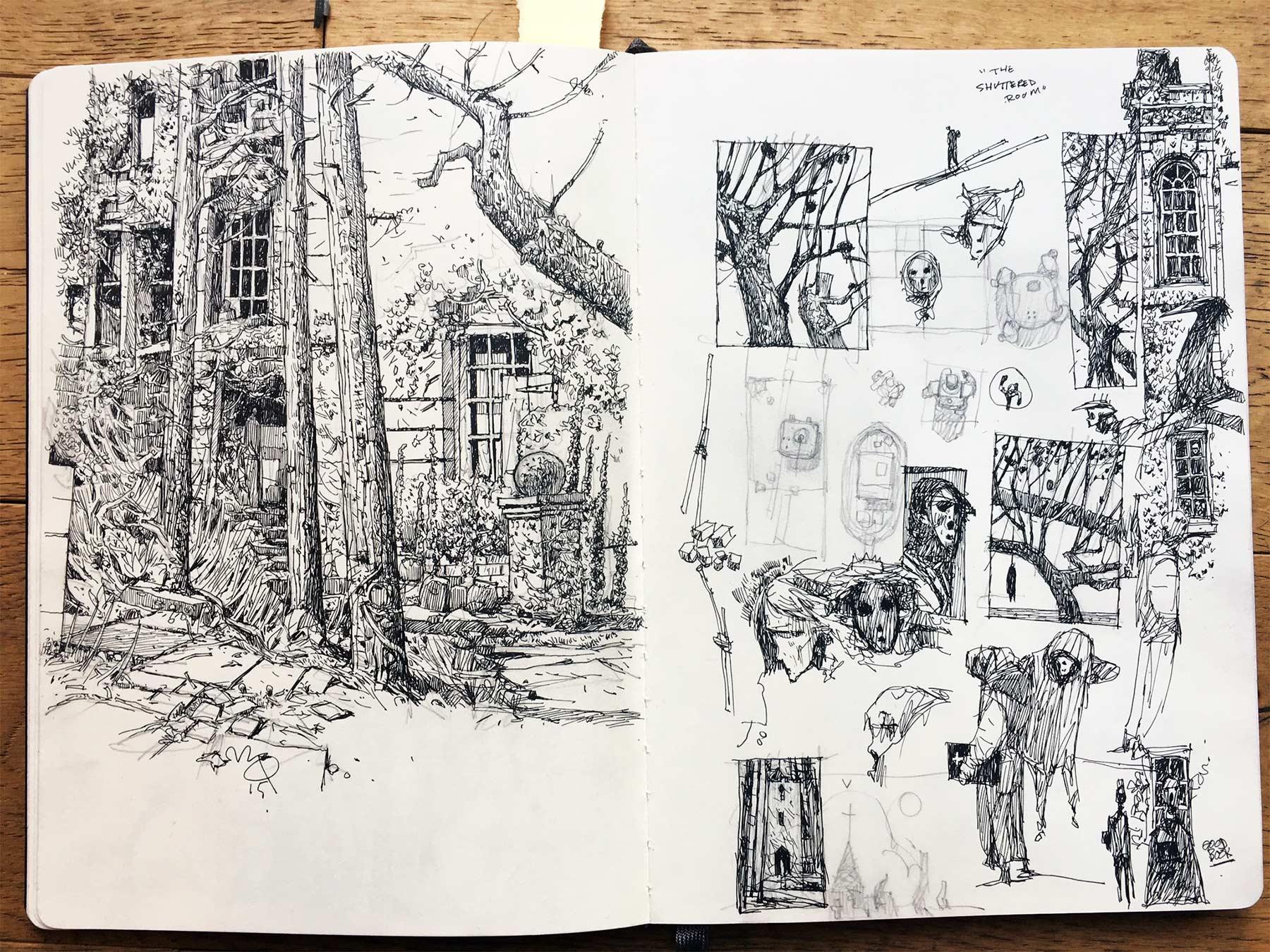 Zeichnungen: Ian McQue Ian-McQue_01