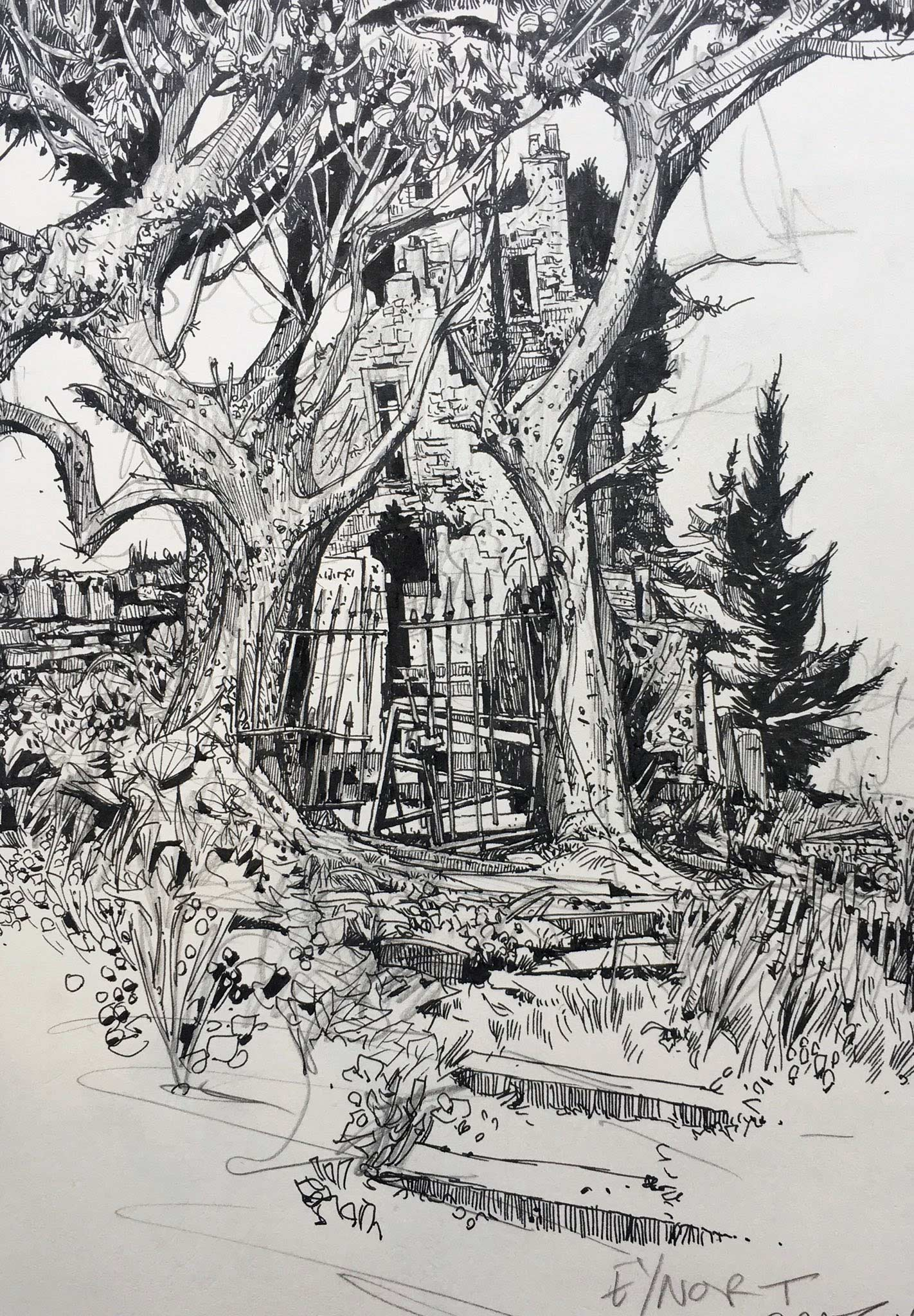 Zeichnungen: Ian McQue Ian-McQue_02