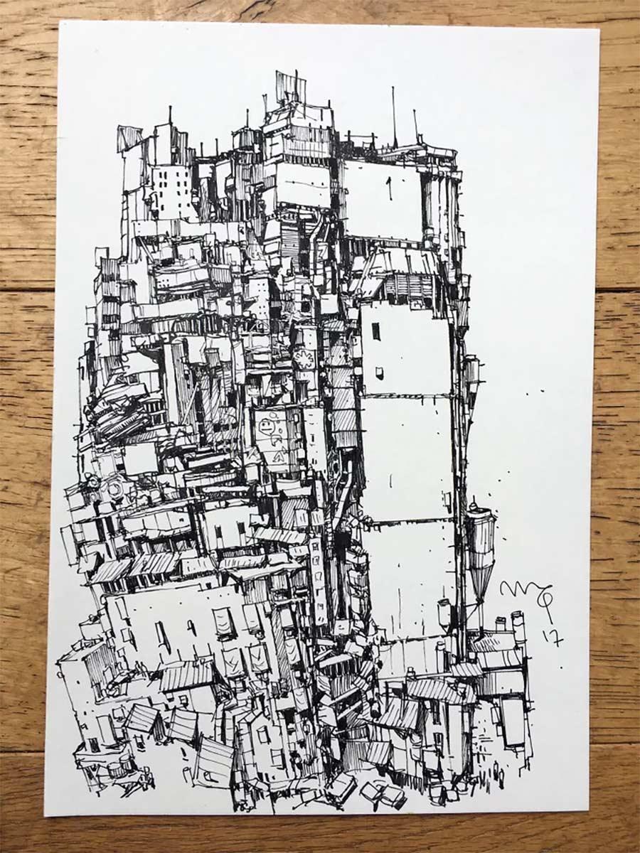 Zeichnungen: Ian McQue Ian-McQue_03