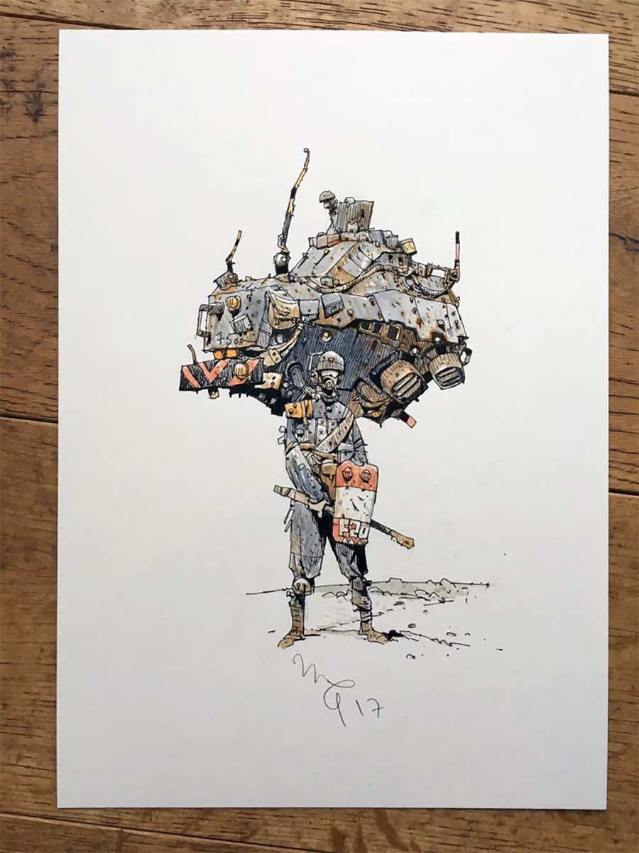 Zeichnungen: Ian McQue Ian-McQue_04