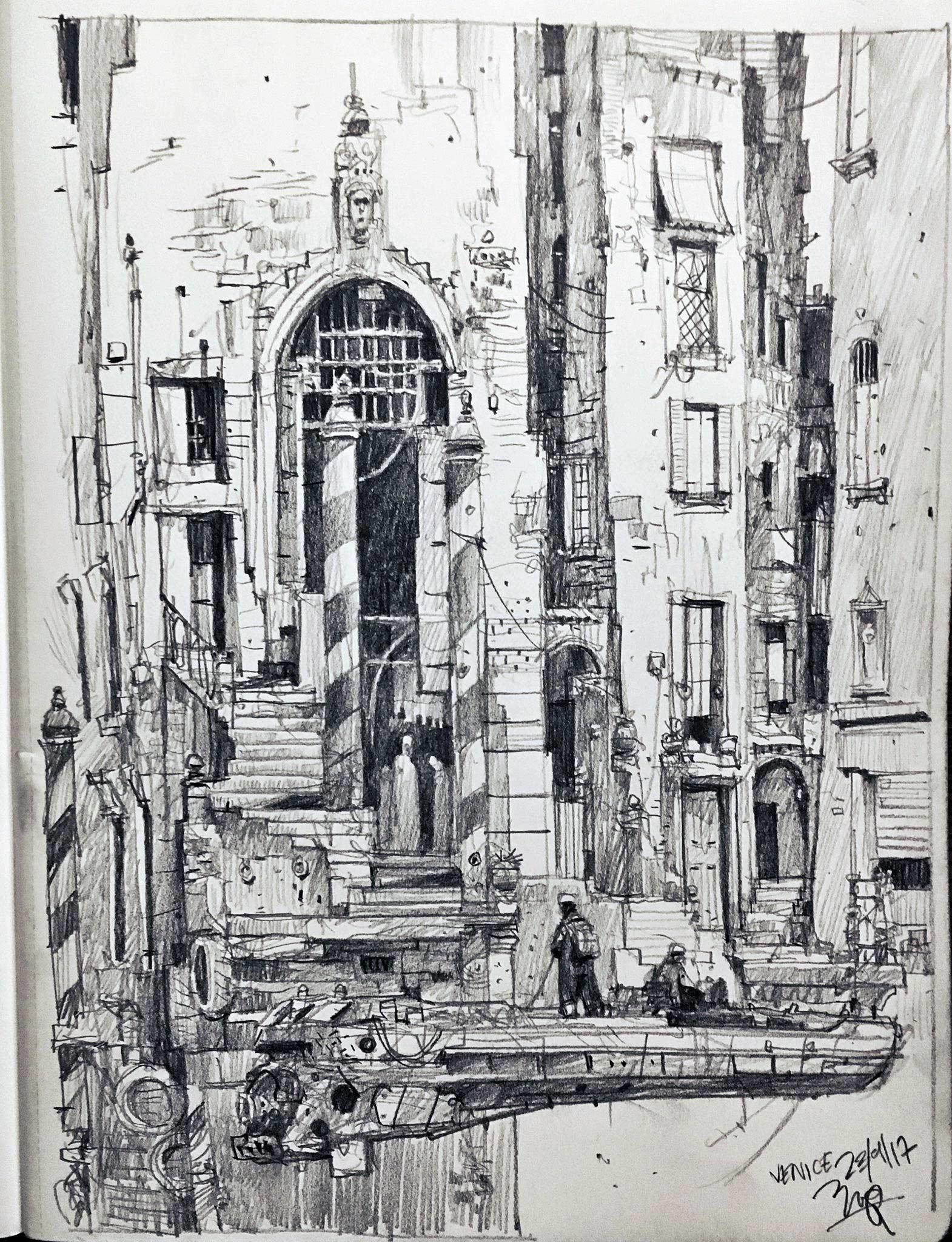 Zeichnungen: Ian McQue Ian-McQue_05