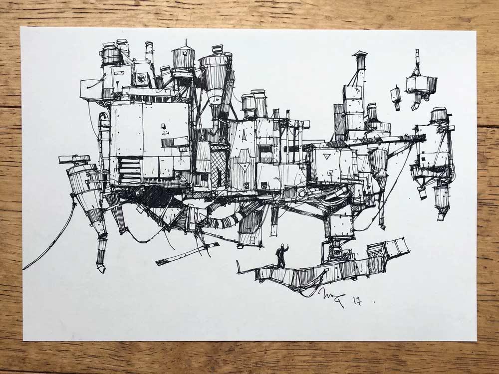Zeichnungen: Ian McQue Ian-McQue_07