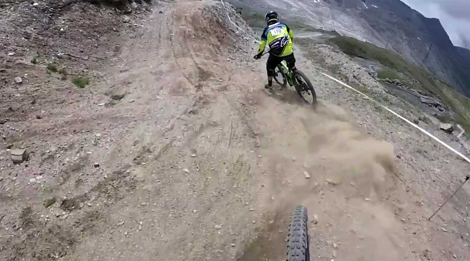Extreme Downhill-Massenabfahrt MAXIAVALANCHE-CERVINIA-QUALI-RUN