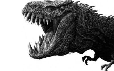 Detaillierte Tierportraits von Ricardo Martinez