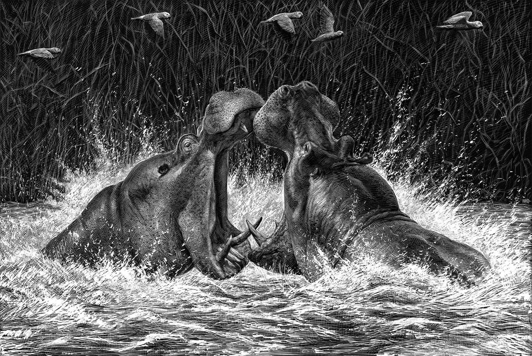 Detaillierte Tierportraits von Ricardo Martinez Ricardo-Martinez_07