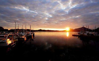 Timelapse: Schönes Norwegisches Wolkenspiel