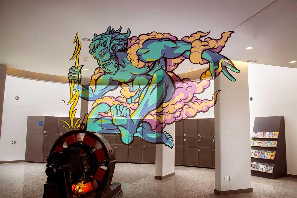 Perspektivische Malerei von Truly Design Studio Truly-Design-Studio-anamorph_10