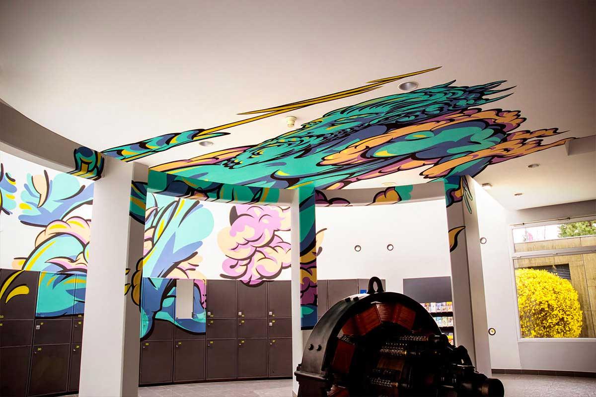Perspektivische Malerei von Truly Design Studio Truly-Design-Studio-anamorph_11
