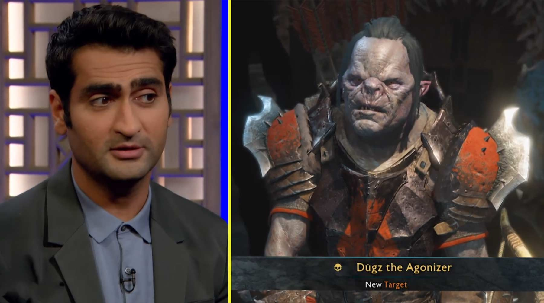 Conan spielt Shadow of War mit Kumail Nanjiani