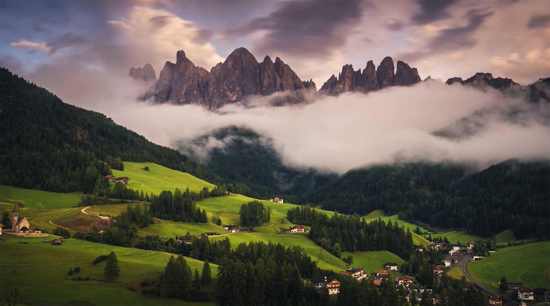 Die Dolomiten in knackigem 4K