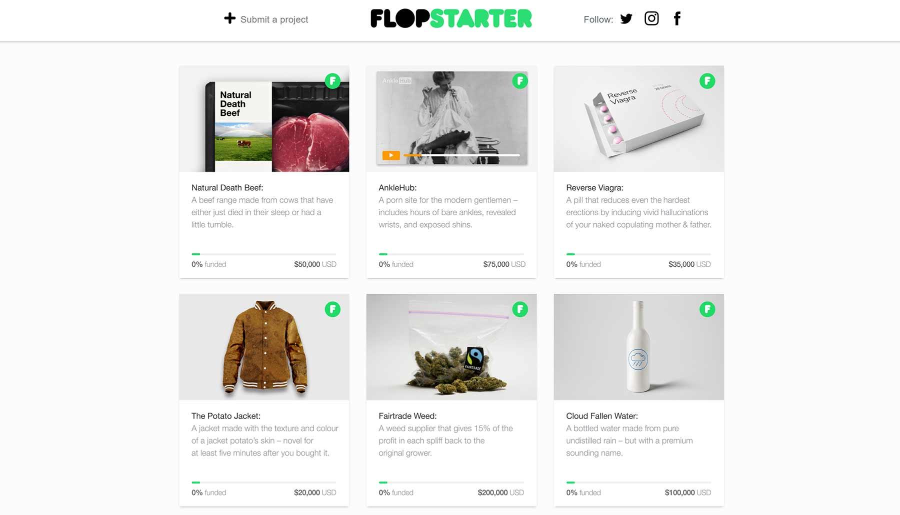 Flopstarter: Plattform für schlechte Ideen flopstarter_01