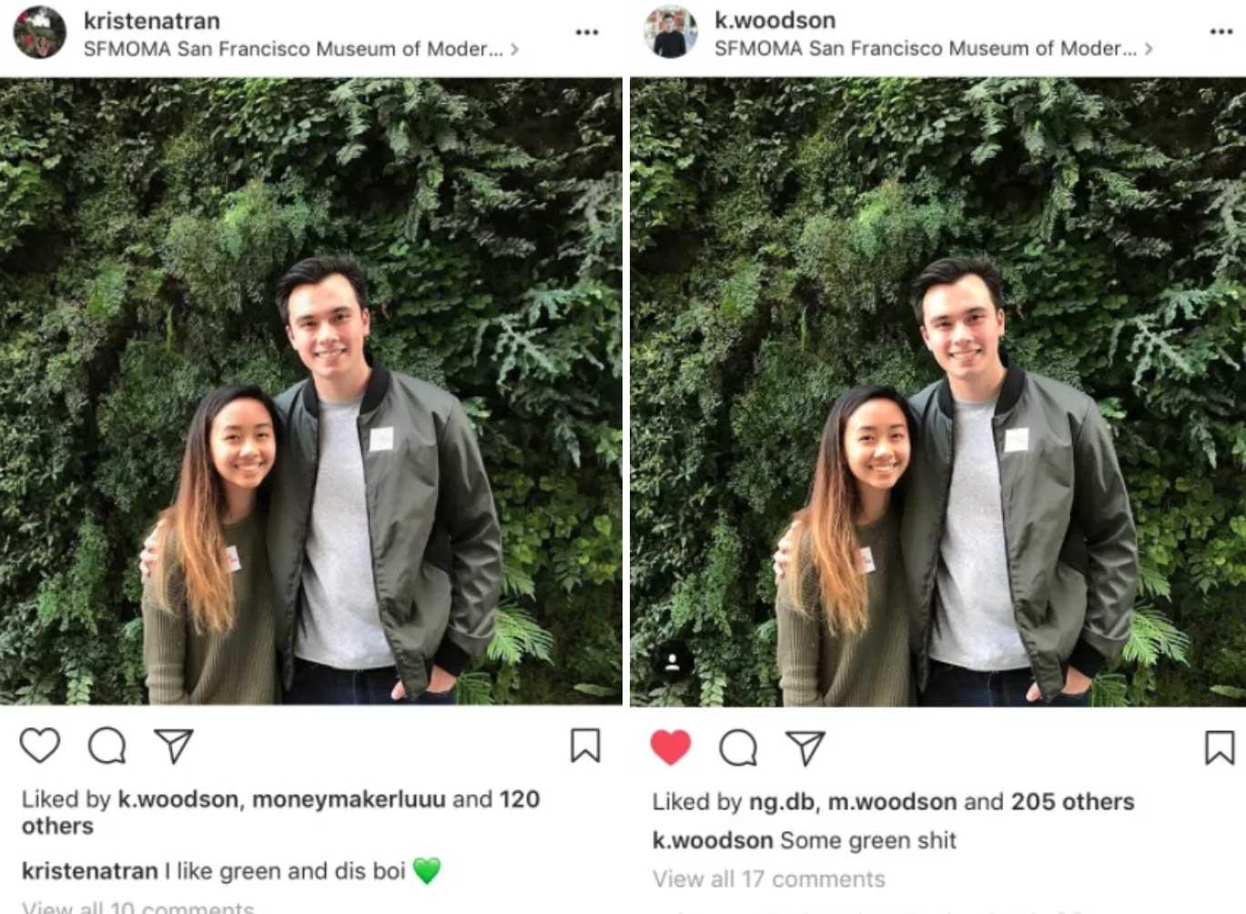 Wenn Freundin und Freund dasselbe Foto posten aber anders beschreiben freundin-und-freund-social-media-post_06