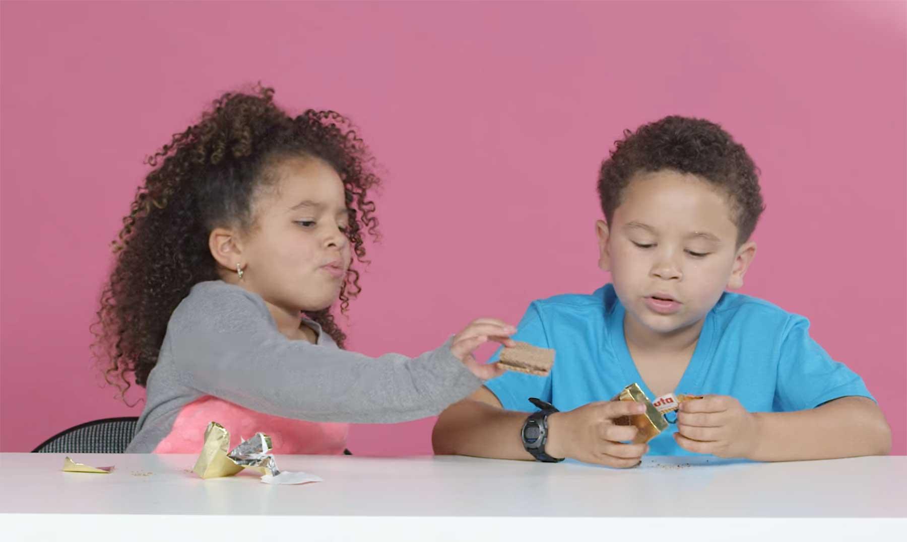 US-Kids testen deutsche Süßigkeiten kinder-testen-deutsche-snacks