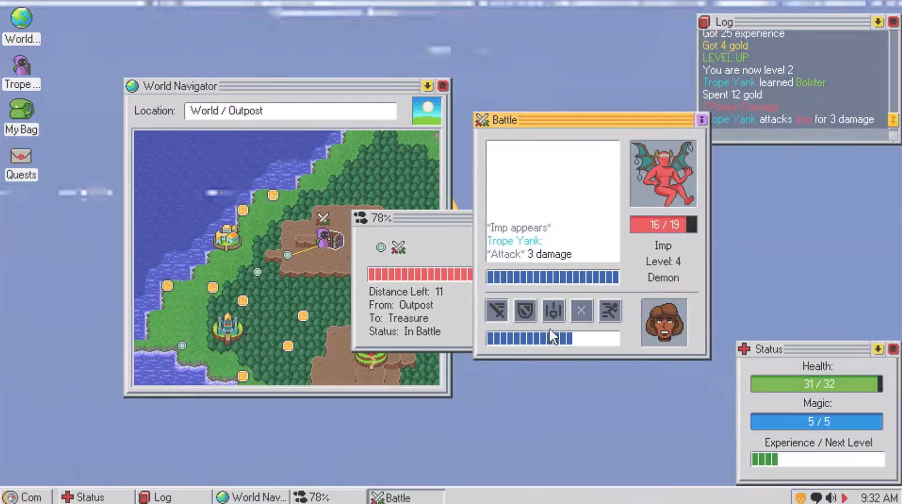 Kingsway ist ein RPG im Betriebssystem-Format