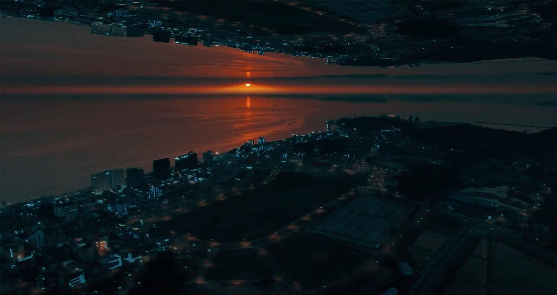 Wunderschön gespiegeltes Südkorea