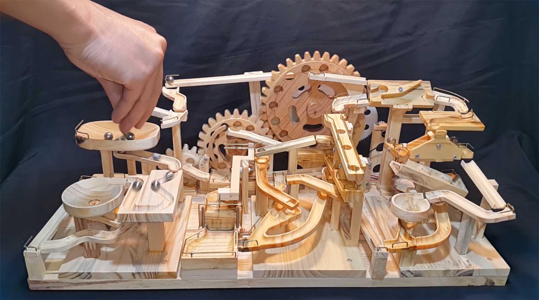 Modulare Murmel-Maschine murmelmaschine