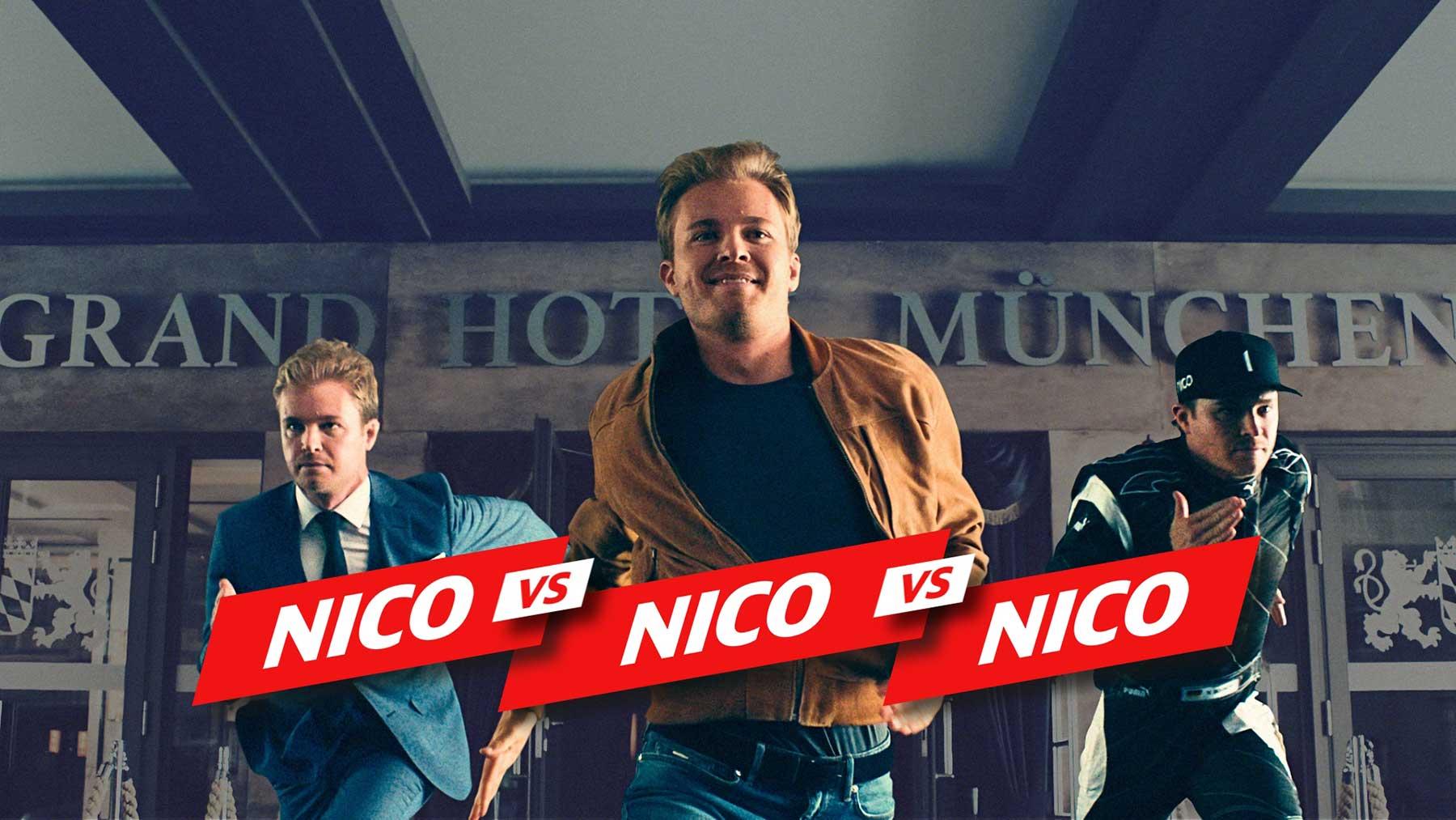 Nico Rosberg im Wettrennen gegen sich selbst