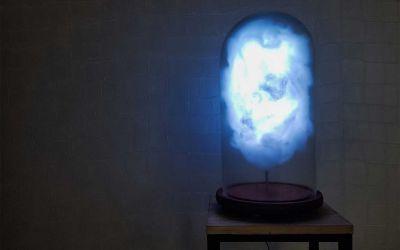 Diese Wolkenlampe gewittert, wenn Donald Trump einen Tweet absetzt
