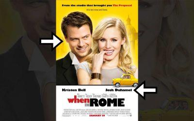 Filmplakate: Schauspielernamen vs. -Gesichter