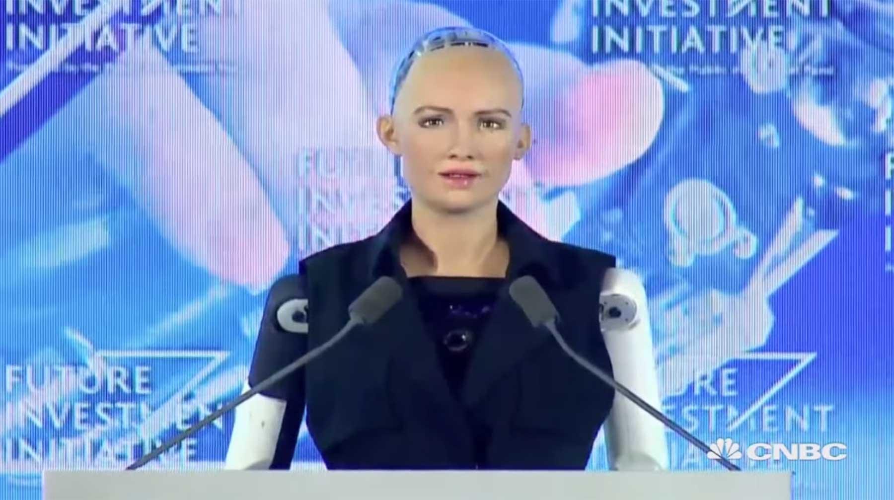 Sophia ist der erste eingebürgerte Roboter