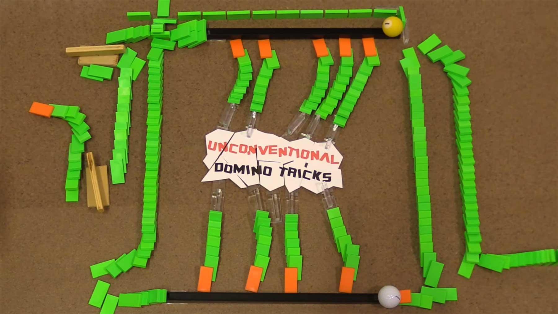 Unkonventionelle Domino-Tricks unkonventionelle-domino-tricks