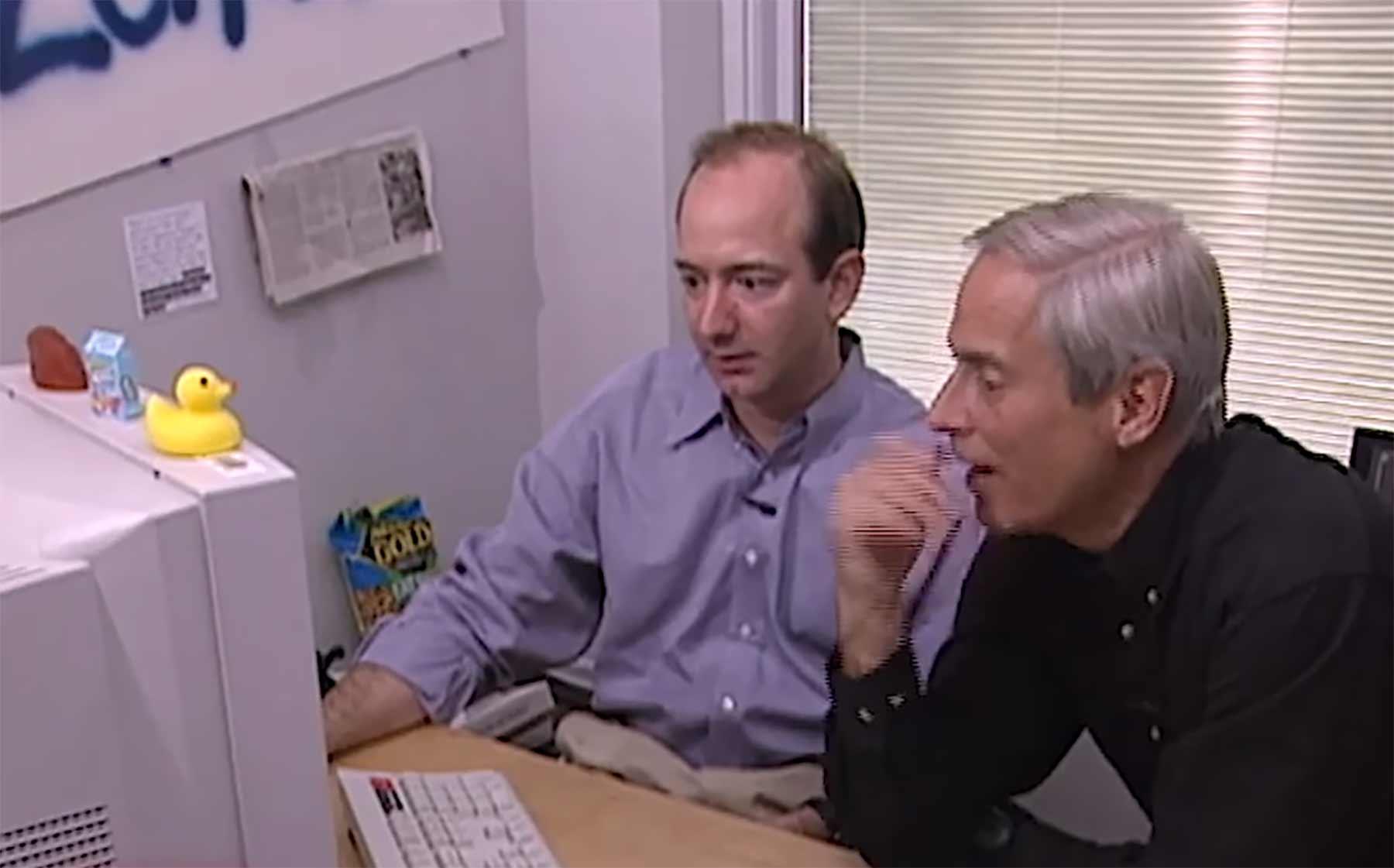 Amazon-Gründer Jeff Bezos im Videoportrait 1999