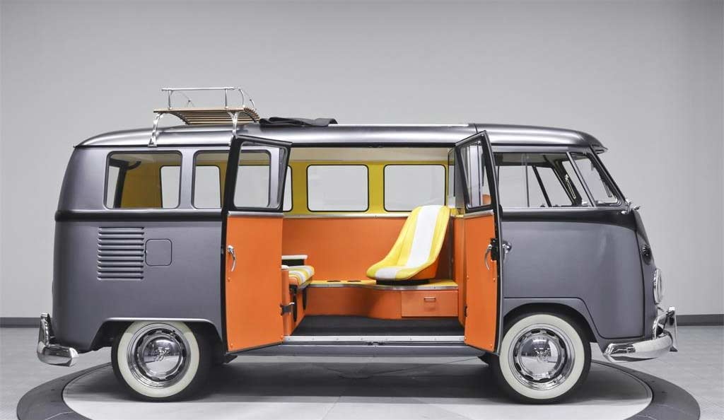 Dieser coole VW T1-Bulli fährt zurück in die Zukunft Back-To-The-Future-VW-T1-Bulli_10