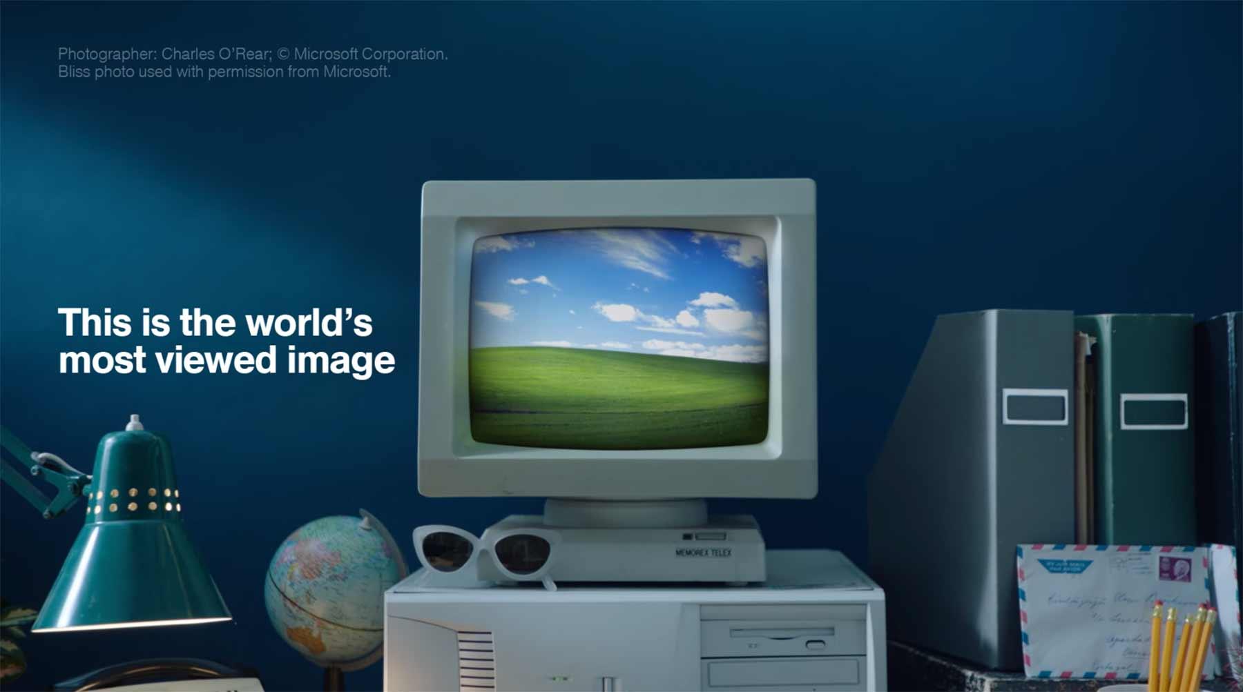 Der Fotograf des ikonischen Windows XP-Hintergrundbildes