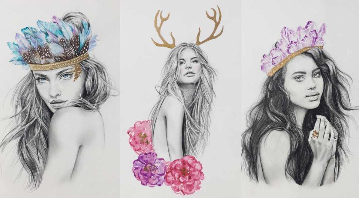 Zeichnungen: Elle Wills Elle-Wills_07