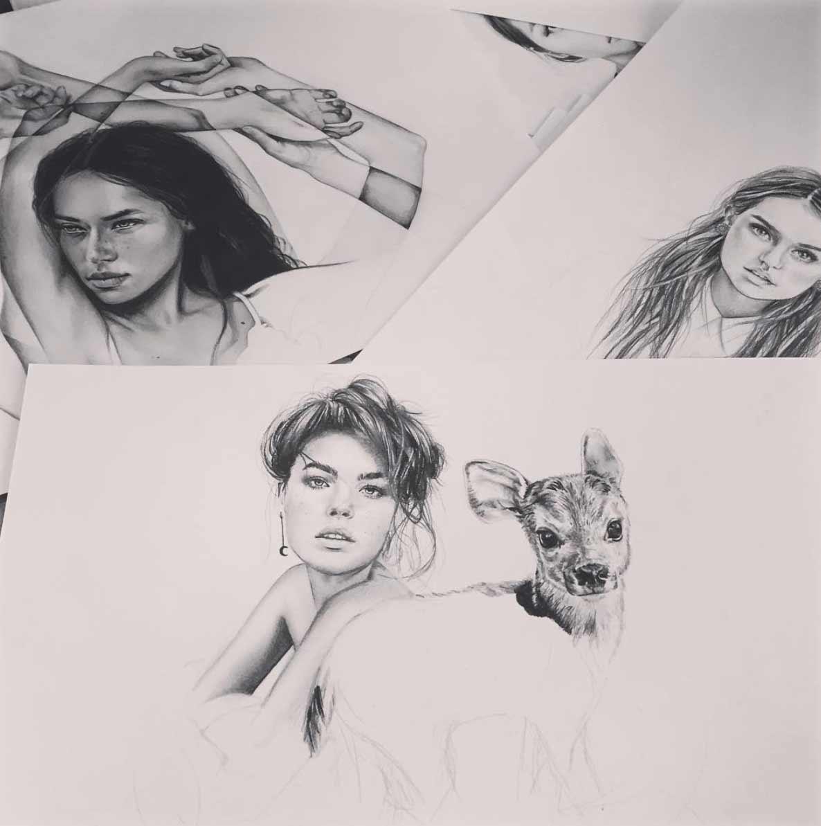 Zeichnungen: Elle Wills Elle-Wills_09