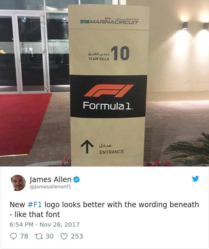 Das neue Formel 1-Logo spaltet die Gemüter Formel-1-Logo-2018_05