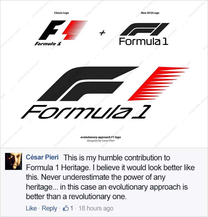 Das neue Formel 1-Logo spaltet die Gemüter Formel-1-Logo-2018_07