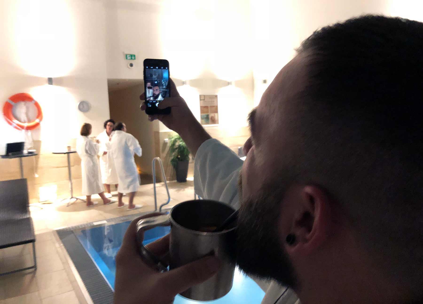 Ich war auf dem entspanntesten Blogger-Event - und einer Luxus-Toilette Geberit_Dailydoseofspa_08