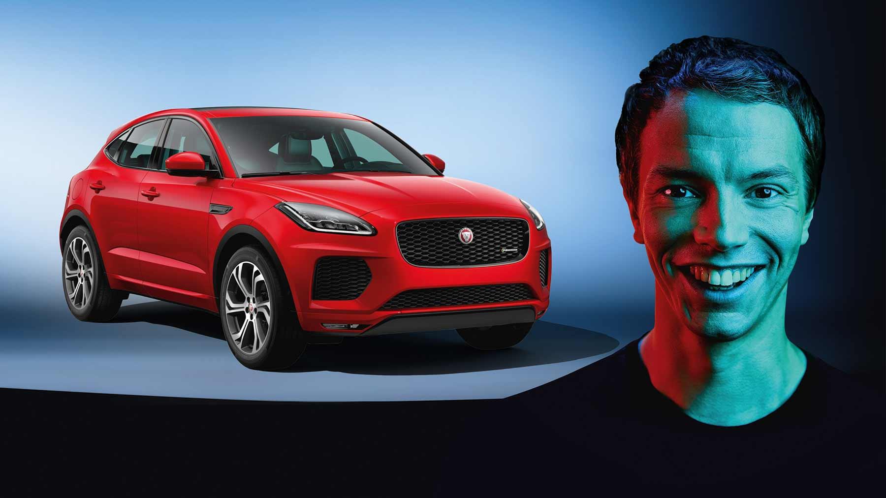 Gratis zu den exklusiven Privatkonzerten von Alle Farben Jaguar-E-Pace-SETTHEPACE-Alle-Farben