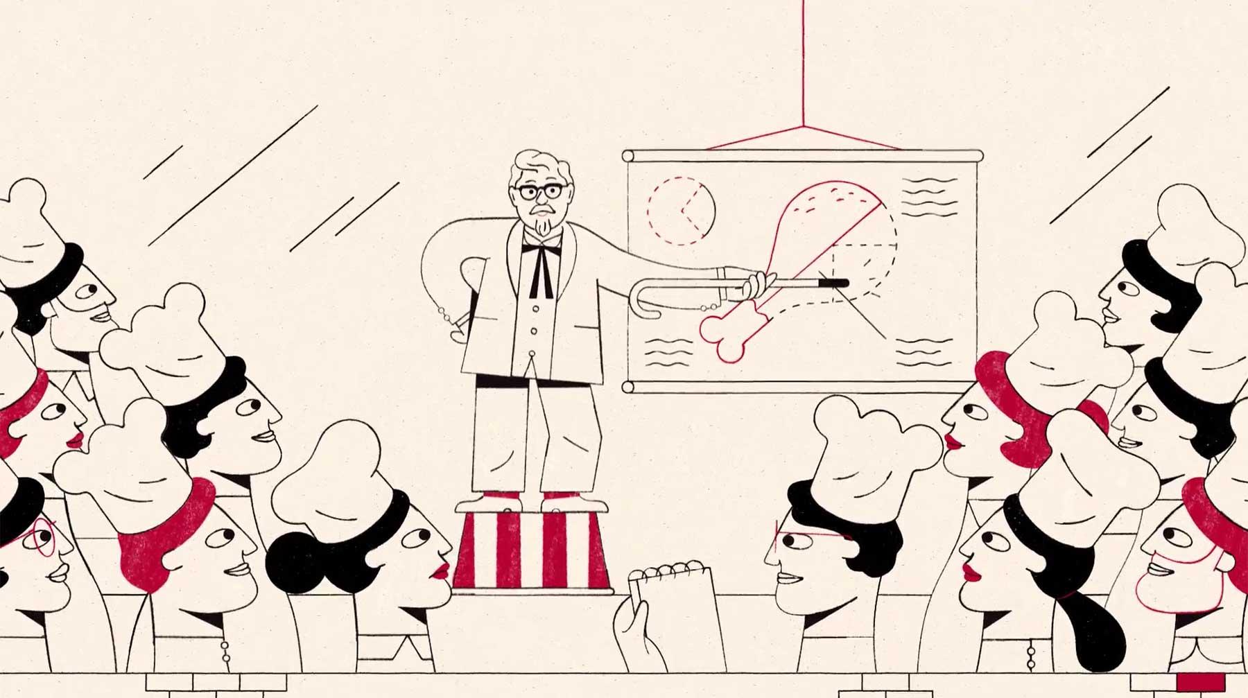 Wundervoll animierter KFC-Werbespot
