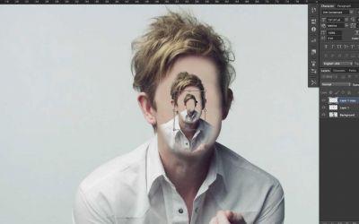 Vier Minuten Photoshop-Retusche als Musikvideo