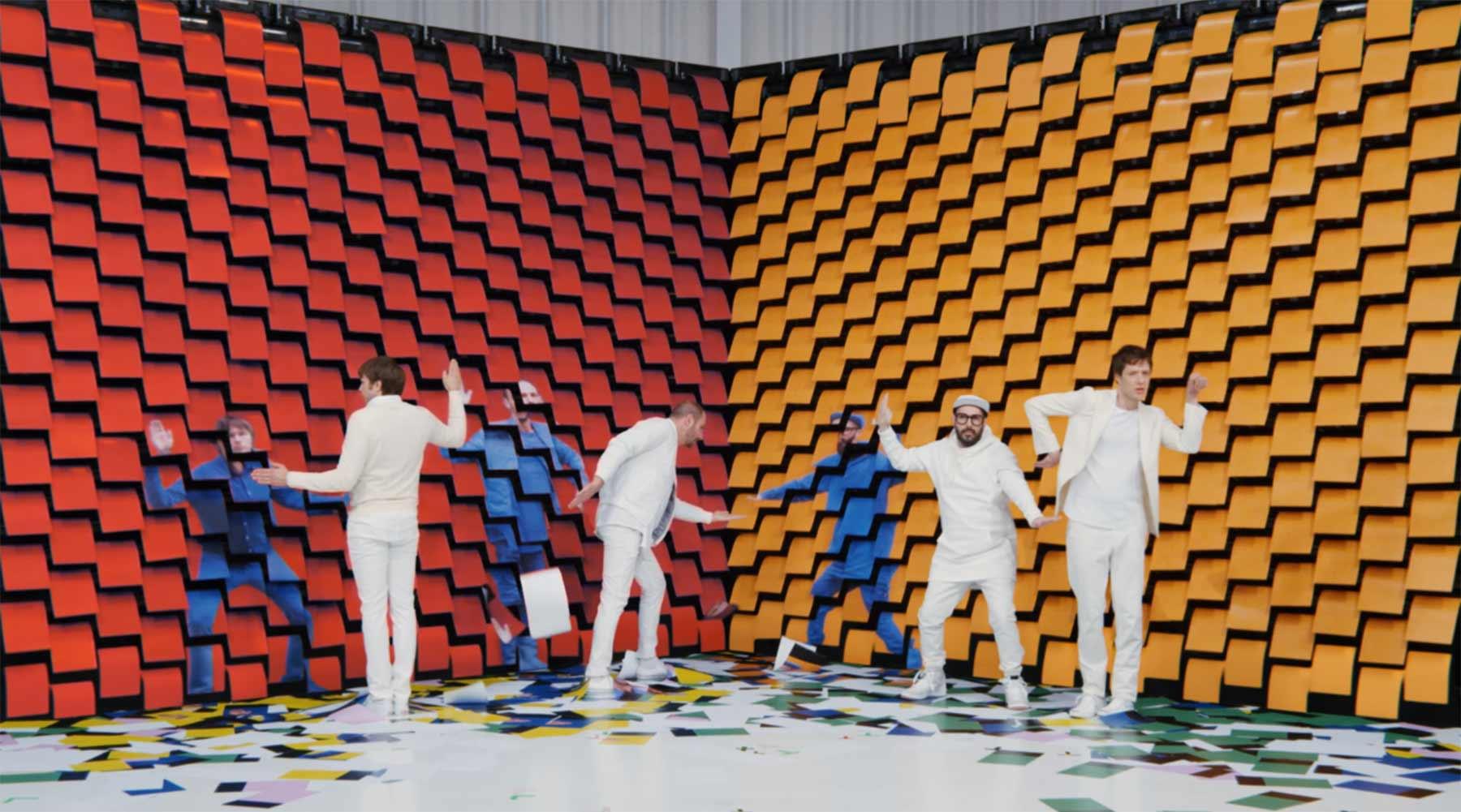 Drucker-Papier-Stopmotion im neuen Musikvideo von OK Go