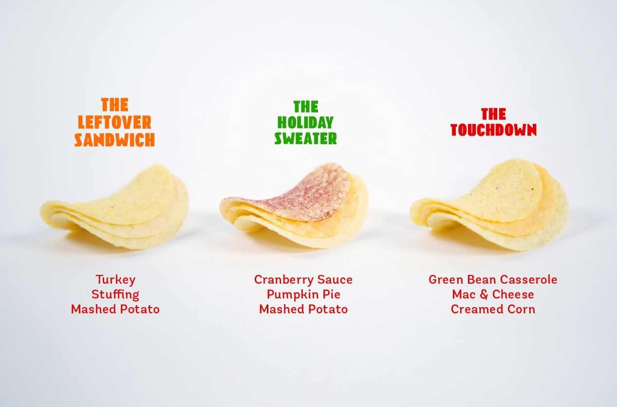Pringles verkauft ein komplettes Thankgiving-Mahl aus Chips