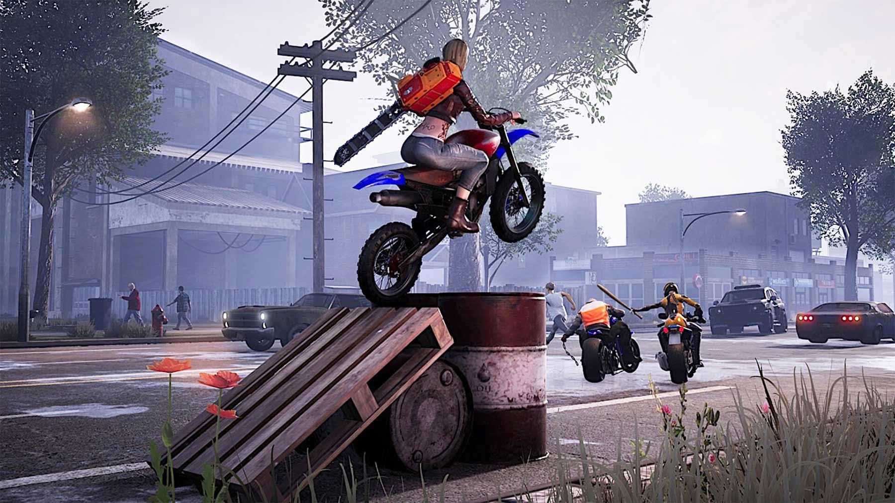 """Road Rage"" bringt gewaltige Motorrad-Action Road-Rage-trailer"