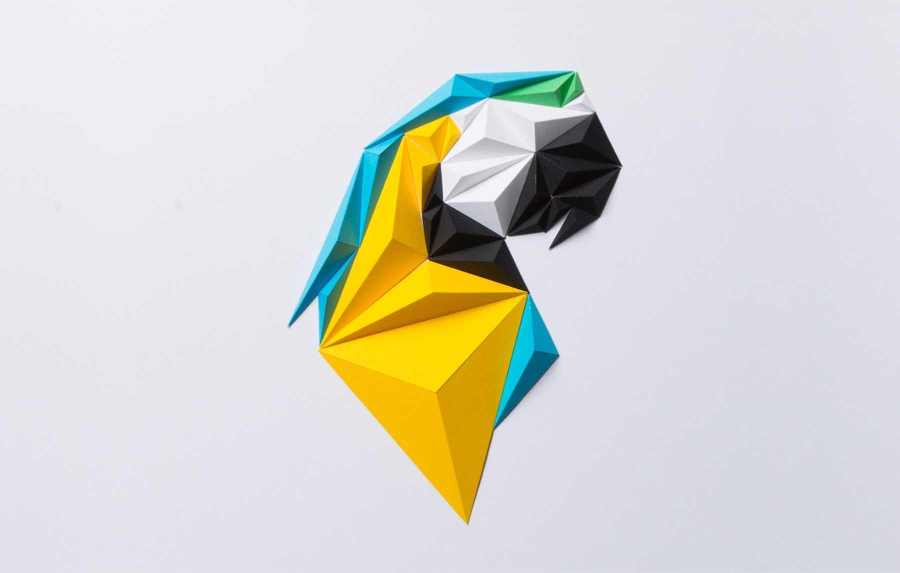 Polygone Papier-Vögel Tayfun-Tinmaz_papiervoegel_01