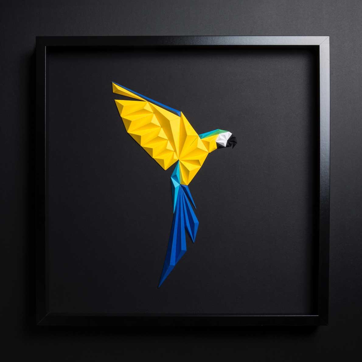 Polygone Papier-Vögel Tayfun-Tinmaz_papiervoegel_03