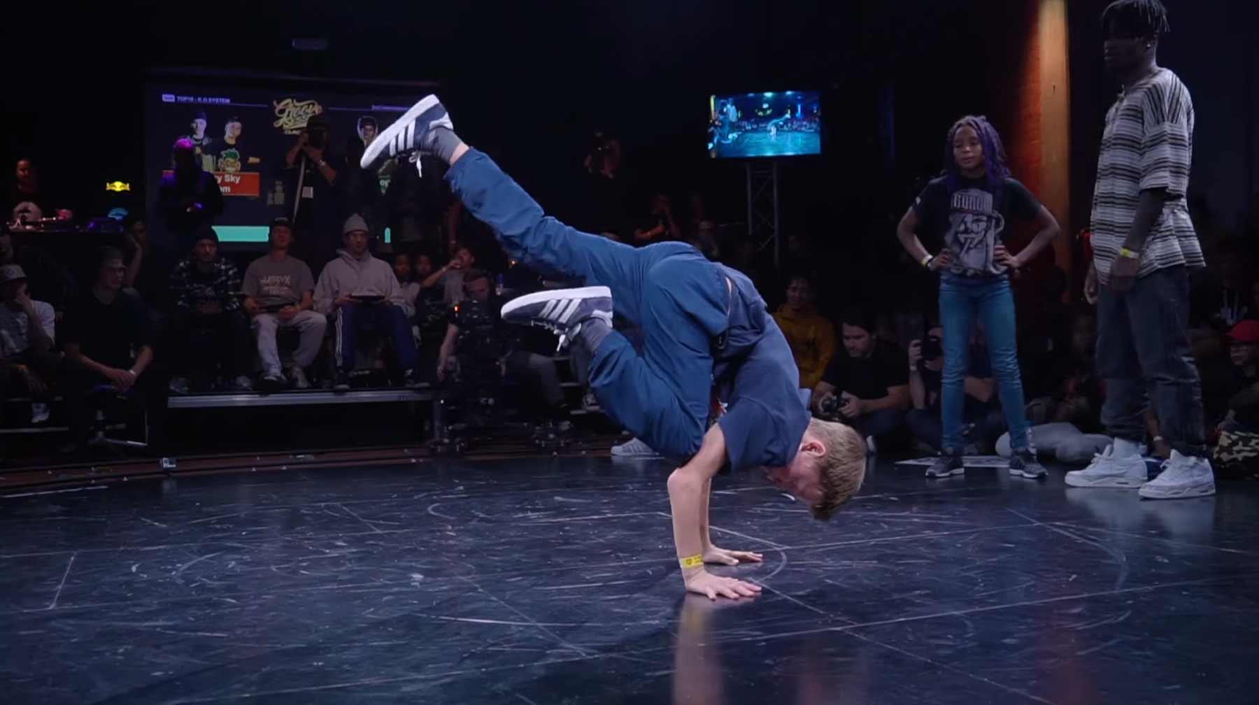 12-Jähriger B-Boy breakt alles in Grund und Boden bboy-grom-breakdancing