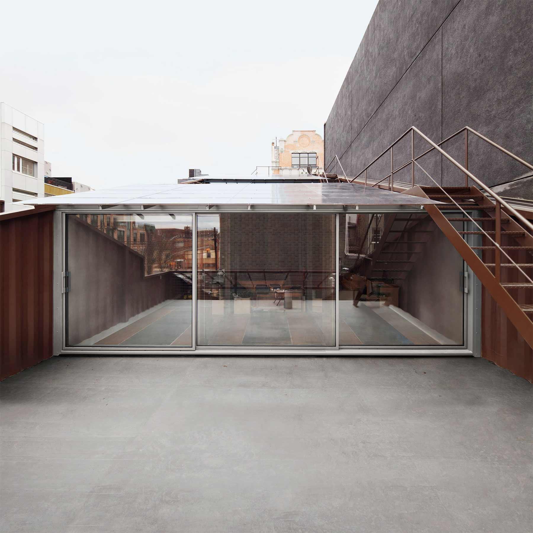 Haus aus 21 verschnittenen Containern carroll-house-21-Container_10