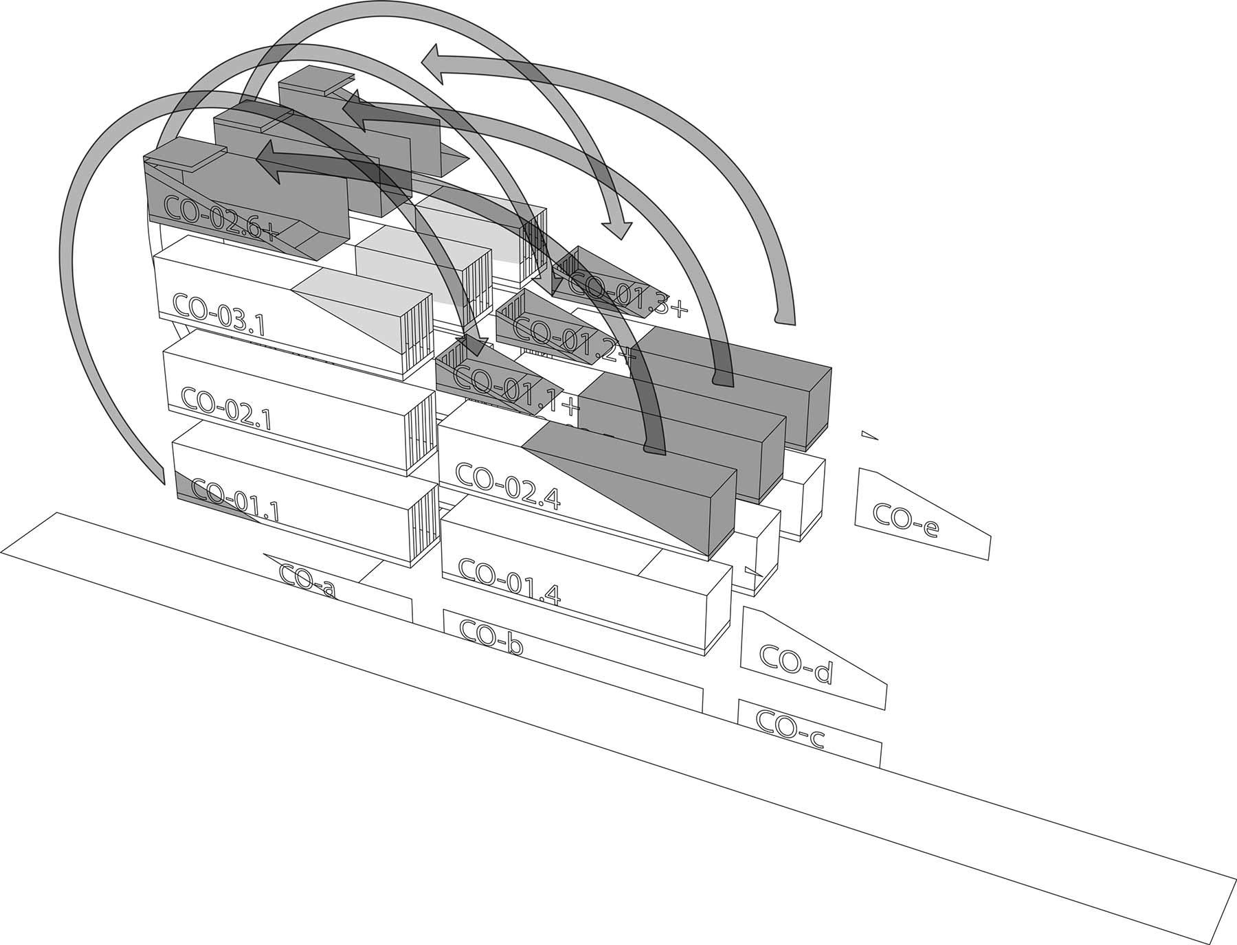 Haus aus 21 verschnittenen Containern carroll-house-21-Container_11
