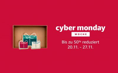 Mit diesem Link bei der Cyber Monday Woche auf Amazon richtig sparen