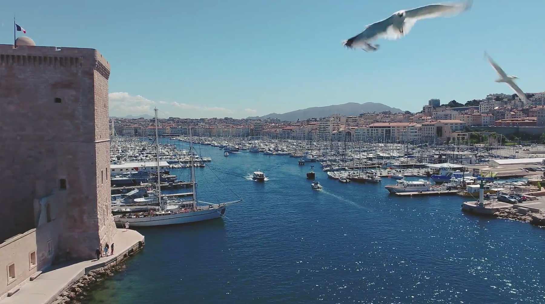 Hyperlapse: Marseille