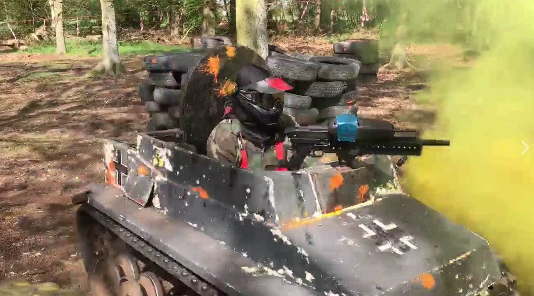 Minipanzer-Paintball