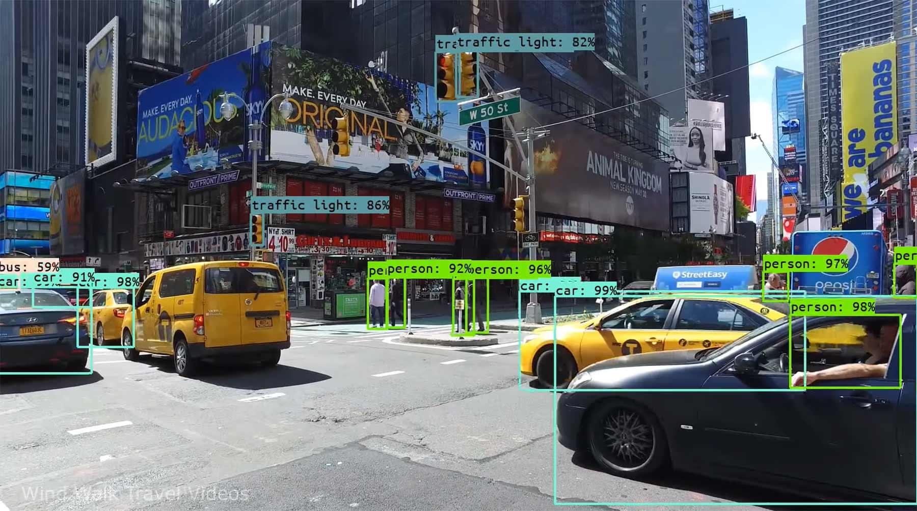 Was ein Computer beim Spaziergang durch den Times Square sieht neurales-netzwerk-times-square