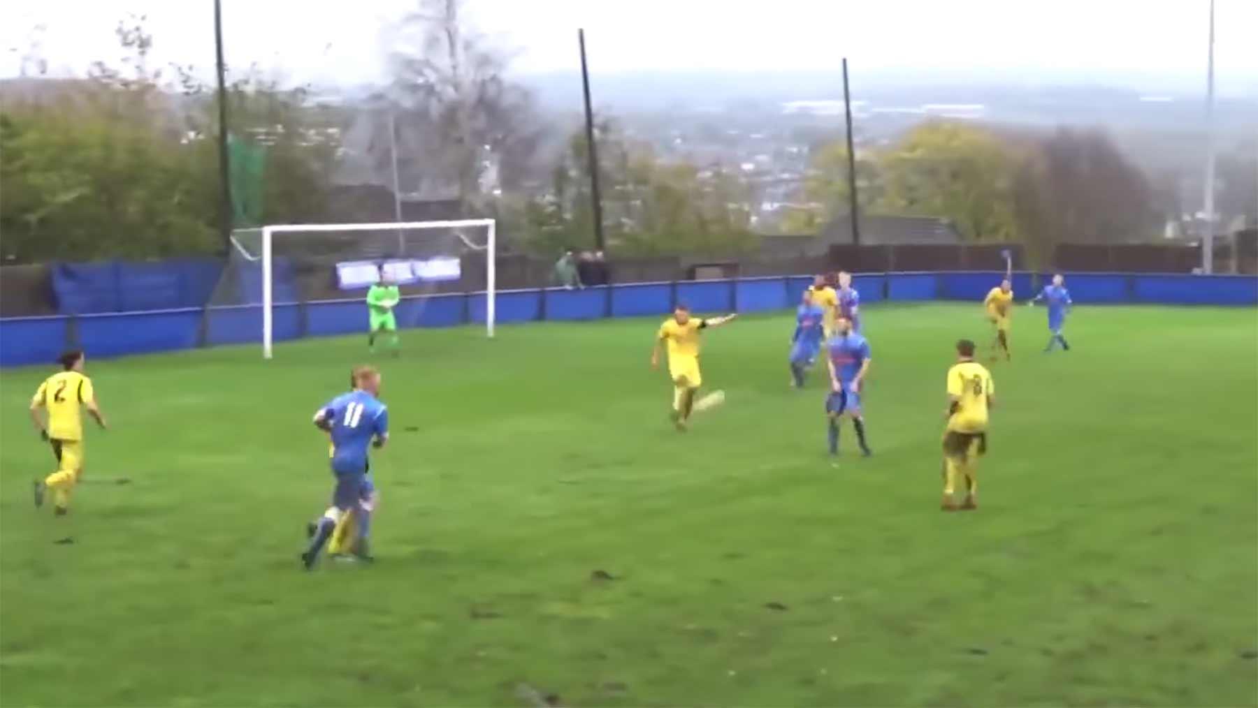 Die dramatischste letzte Minute eines Fußballspiels