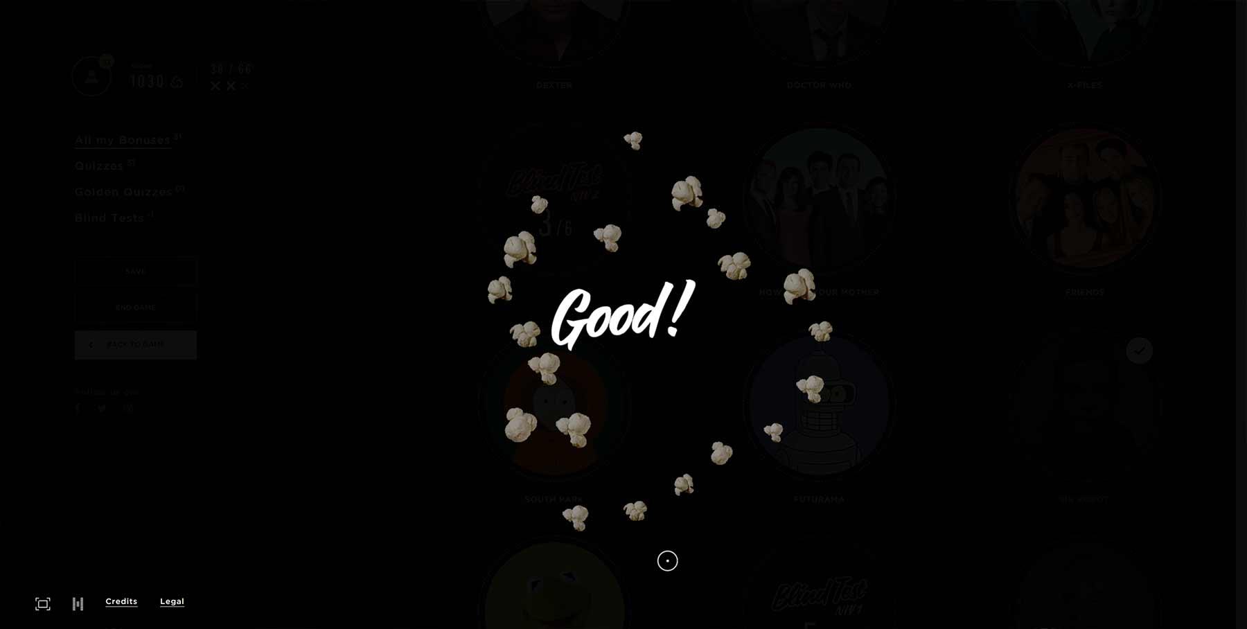 Interaktives Rätselspiel mit 66 versteckten Serien popcorn-TV_06